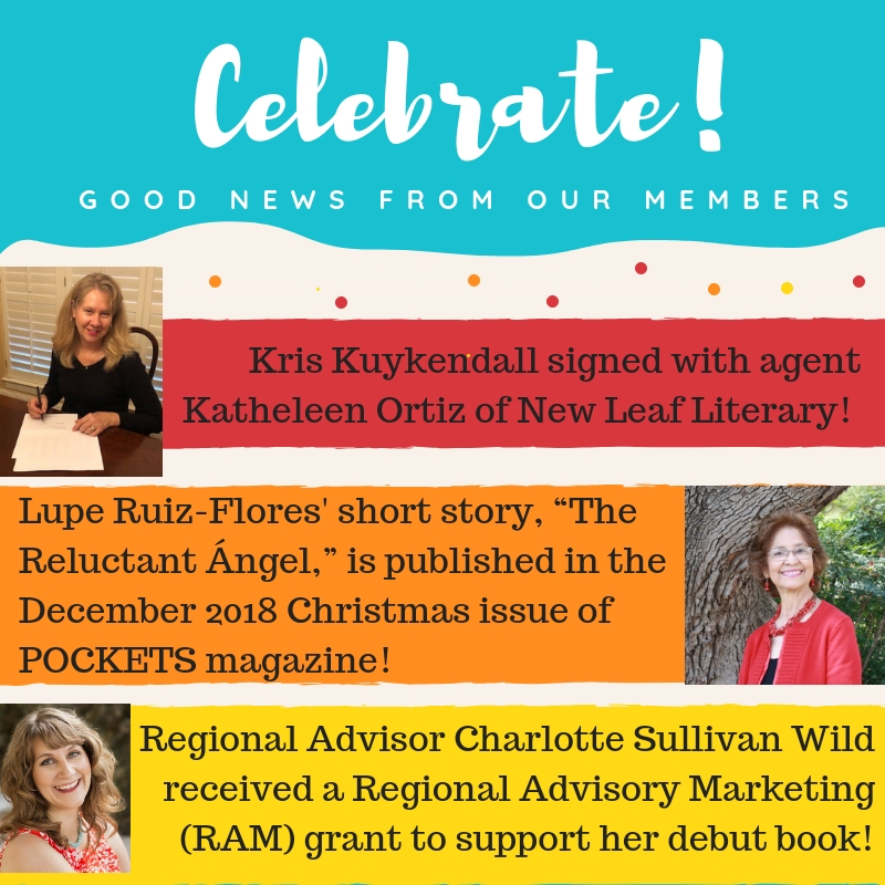 Kris Kuykendall signed with agent Kathleen Ortiz of New Leaf Literary! Lupe Ruiz-Flores' short story,